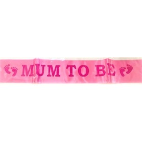 Mum To Be Sash - Pink 1.5m