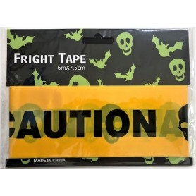 Caution Tape 6m x 7.5cm - Black