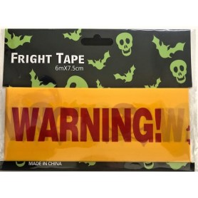 Warning Tape 6m x 7.5cm