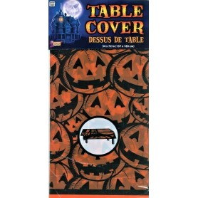 Halloween Pumpkin Table Cover - 137cm x 183cm