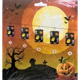 Halloween Paper Lantern - Black