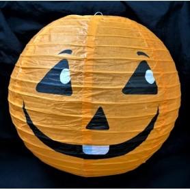 "Halloween Paper Lantern 12"" - Happy Pumpkin Jack-o-lantern"