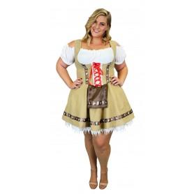 Women's Alpine Beer Girl Costume - XXL