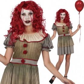 Vintage Clown Costume - Women's Small/Medium