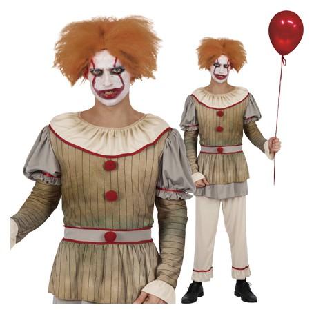 Vintage Clown Costume - Men's