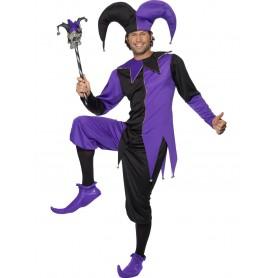Medieval Jester Costume - Medium