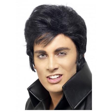 Licensed Elvis Wig - Black