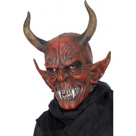 Red Devil Demon Mask