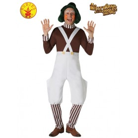 Oompa Loompa Deluxe Costume - Adult