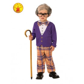 Little Old Man Costume - Child 5-7YRS