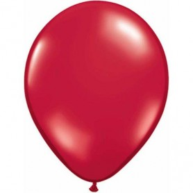 "Qualatex 11"" Round Latex Balloon - Jewel Ruby Red"