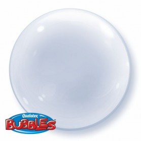 "Qualatex Deco Bubble 51cm 20"" - Clear"