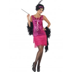 20s Gatsby Funtime Flapper Costume - Large