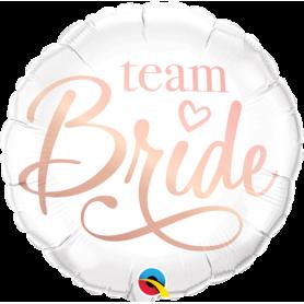 """Qualatex 18"""" Foil Balloon - Team Bride"""