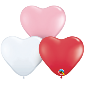 Heart Latex Balloon 38cm - Sweetheart Range