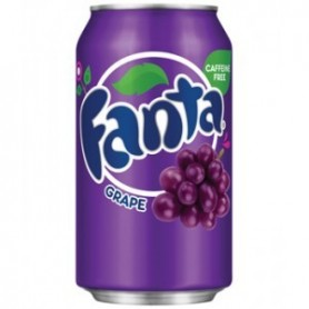 Fanta Grape Soft Drink - 355mL
