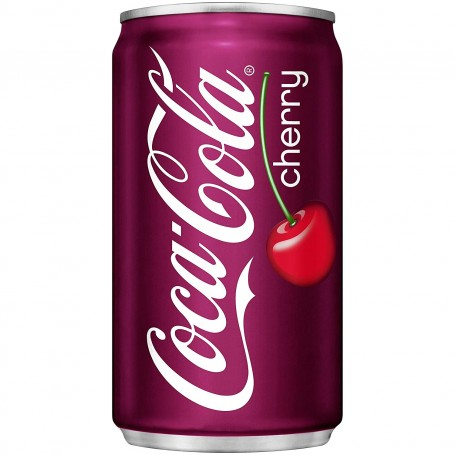 Cherry Coke Soft Drink - 355mL