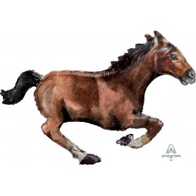 Galloping Horse - Foil Balloon 101cm x 63cm