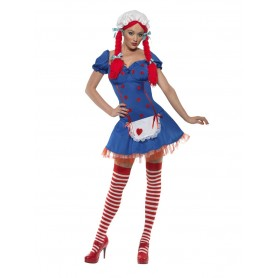Fever Ragdoll Costume - Large