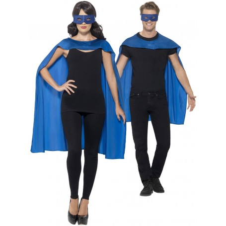 Blue Cape with Eyemask