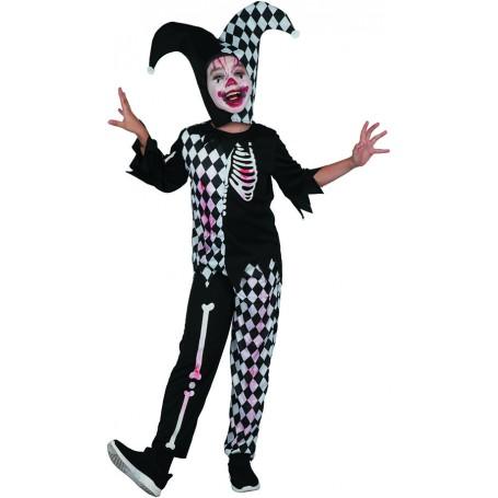 Wicked Harlequin Jester Costume