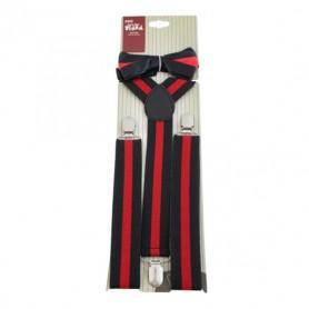 Gatsby Bow Tie & Braces Set
