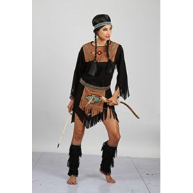 Red Indian Squaw Costume