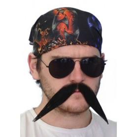 Moustache - 'Biker' Big Black