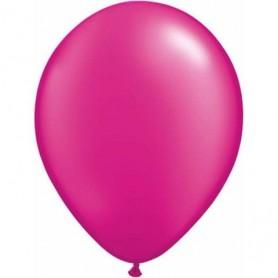 "Qualatex 11"" Round Latex Balloon - Pearl Magenta"