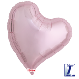 "Ibrex Sweet Heart 25"" Metallic Light Pink"