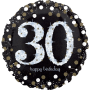 """30th Holographic Sparkling Birthday - Foil Balloon 18"""""""