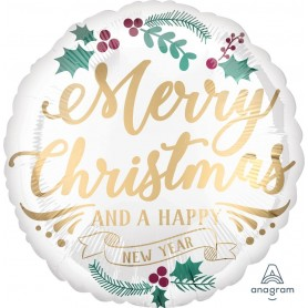 Satin Infused Christmas & New Year Foil - 45cm