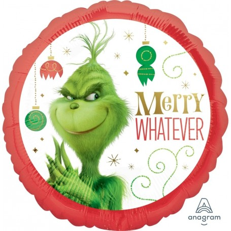 The Grinch Movie Christmas Licensed Foil - 45cm