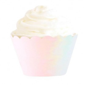 Iridescent Pastel Cupcake Wrapper - Illume Partyware