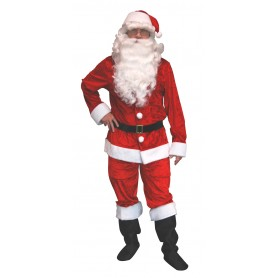 Velvet Santa Suit - Adult Large