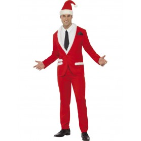 Santa Cool Costume Suit - Adult Large