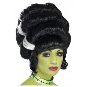 Black Pin Up Frankie Wig