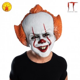 Pennywise Vacuform Moulded Mask - Adult