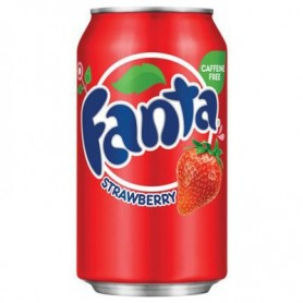 Fanta Strawberry Soft Drink - 355mL