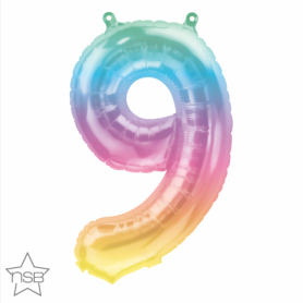 Number 9 Eight Jelli Ombre - 16 inch (Air-Fill) Foil