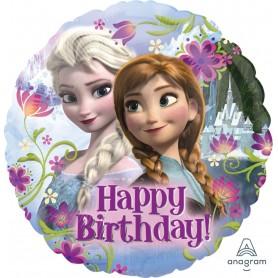 "Frozen Happy Birthday - Licensed Foil 18"""