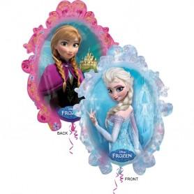 Frozen Anna & Elsa Licensed Super Shape Foil (63cm x 78cm)