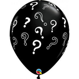 Gender Reveal Question Marks Latex Balloon - 40cm