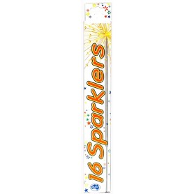 Sparklers by Alpen 25cm - 16 Pack