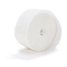 Crepe Streamers 30m - White