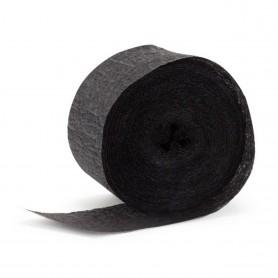 Crepe Streamers 30m - Black