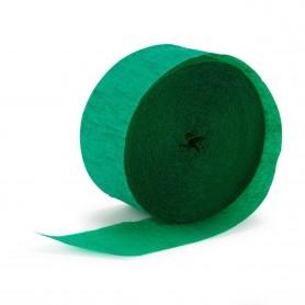 Crepe Streamers 30m - Emerald Green