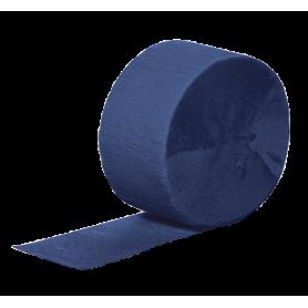 Crepe Streamers 30m - Navy Blue