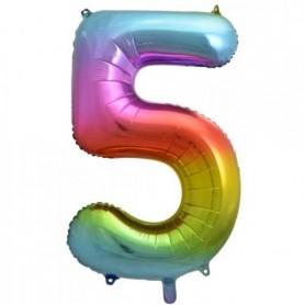 Number Five Rainbow Splash - Decrotex 86cm