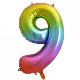 Number Nine Rainbow Splash - Decrotex 86cm